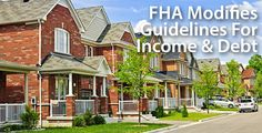 The FHA changed how it treats overtime income, part-time income, and gift funds; and, also how it treats student debt and loans for cars. This is big news.