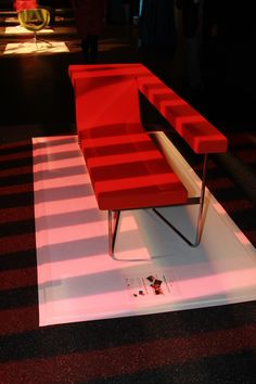 Jovi Lounge Seating display at the BluSky event in Virginia.
