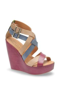 Shop Women's Kork-Ease Wedges on Lyst. Track over 285 Kork-Ease Wedges for stock and sale updates. Shoes Heels Wedges, Wedge Heels, Pumps, Sandal Wedges, Leather Wedge Sandals, Leather Wedges, Cute Shoes, Me Too Shoes, Crazy Shoes