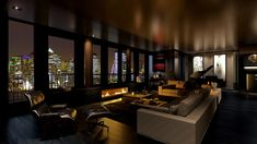 Nyc Apartment Luxury, City View Apartment, Luxury Penthouse, Penthouse Apartment, Dream Apartment, City Lights At Night, Home Nyc, Dream Life, Trendy Tree