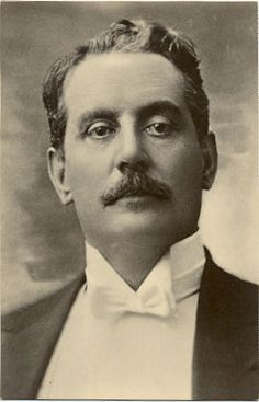 Giacomo Puccini, Italian composer of operas- from Lucca