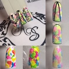 68 ideas for fails art diy sharpie Diy Nails, Swag Nails, Cute Nails, Nail Art Designs Videos, Gel Nail Designs, Nail Techniques, Abstract Nail Art, Geometric Nail, Nail Patterns