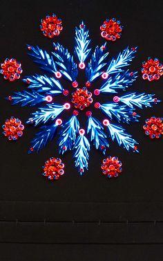 Double Faced Neoprene Embroidered Mini Dress by DELPOZO for Preorder on Moda Operandi