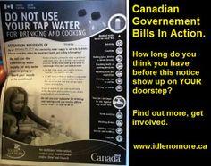 Canada's unhealthy water