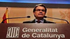 Le président de Catalogne écarte tout referendum en 2014 sans le feu vert de Madrid - Languedoc-Roussillon. Le président de la région de Catalogne, Artur Mas, a écarté, jeudi, la possibilité de convoquer le referendum promis pour 2014 sur la souveraineté de cette région espagnole en proie à une forte poussée indépendantiste, s'il n'a pas le feu vert de Madrid.