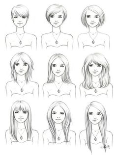 """This would make a good reference to take to the hairdresser. """"THIS is how long I want."""" Then just explain what style."""