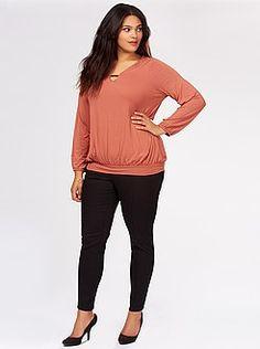 Grande taille femme Pantalon skinny taille haute - Kiabi