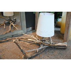 lampada in legno di betulla