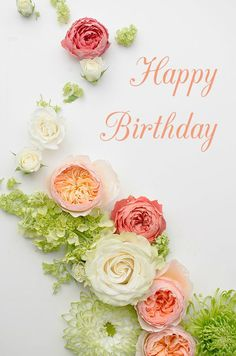 I must have changed my wedding palette at least 10 times when I was planning my wedding. With gorgeous wedding i. Deco Floral, Arte Floral, Floral Room, Floral Design, Birthday Wishes, Happy Birthday, Birthday Greetings, Birthday Coupons, Wedding Colors