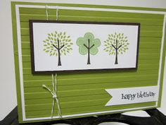 Stampin' Up UK Demonstrator Sarah-Jane Rae Cards and a Cuppa blog: Stampin' Up! Trendy Trees
