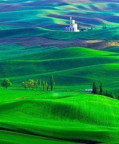 Gorgeous Palouse Region, Washington – USA