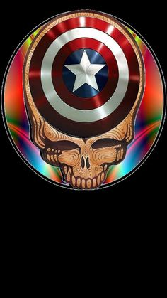 Grateful Dead Capt America