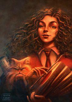 Hermione Granger by Varsha Vijayan