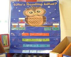 owl classroom theme | Checking Out Books from the Classroom Library