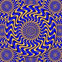 Mystic Motion Wheels  (motion illusion) Stock Vector - 12155795