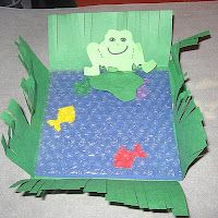 Pond craft using bubble wrap