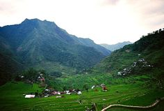 Batad Rice Terraces in northern Luzon in the Philippines