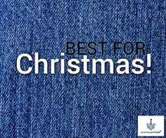 How about BCW jeans to wear it in Christmas? Denim Branding, Blue Line, Logos, Jeans, Christmas, Xmas, Logo, Navidad, Noel