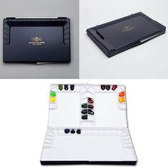 "MIJELLO Watercolor Palette Studio 14"" x 8.6 x 1.4"" MWP-3055 - 55 Wells | Crafts, Art Supplies, Painting Supplies | eBay!"