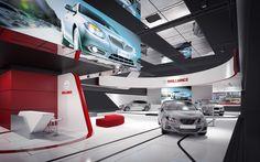 "Confira este projeto do @Behance: ""Exhibition booth for Brilliance Motor"" https://www.behance.net/gallery/38757391/Exhibition-booth-for-Brilliance-Motor"