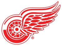 I'm a real Detroit Red Wings hockey fan. I love that team! Detroit really loves it's hockey,so much so,it's called hockey town. <3 (This is the teams logo,btw)!