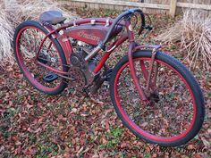 INDIAN-BOARD TRACK RACER ANTIQUE VINTAGE CAFE PRE-WAR BICYCLE HARLEY DAVIDSON