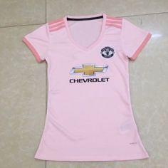 2018-19 Cheap Women Jersey Manchester United Away Replica Pink Shirt   CFC677  Pink 8d56a8071