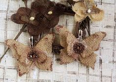 AngelicaScrappenings: Burlap Butterfly Tutorial