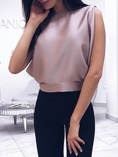 Women Blouse Summer Sexy Tops Bowknot Shirts Casual Loose Plus Size Trend Fashion, Fashion Outfits, Womens Fashion, Ladies Fashion, Casual Outfits, Fashion Blouses, Fashion 2018, Cheap Fashion, Diy Fashion
