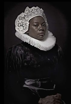Maxine Helfman Tackles Complex Racial Issues By Taking Photographs Of Black Models Posing In Flemish Traditional Costumes