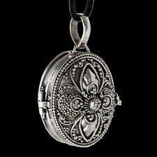 Medaillon Anhänger Schmuck 925er Silber