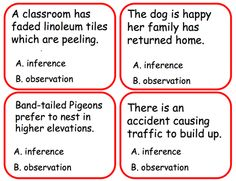 The Goat by the Water' : Observation vs Inference (Originally ...