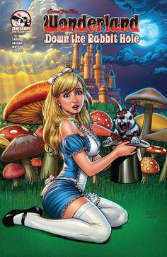 Grimm Fairy Tales presents Wonderland: Down the Rabbit Hole #4
