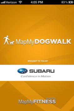 MapMyDogWalk app -cj