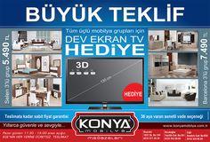 Konya Mobilya / Büyük Teklif