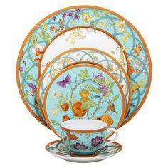 Hermes dinnerware set
