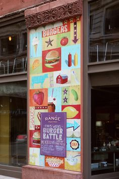 so nice. design for bailey's range burgers and shakes by toky.