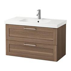 IKEA GODMORGON EDEBOVIKEN Element s 2 ladice umiv efe orah