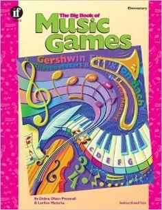 The Big Book of Music Games, Grades K - 5: Debra Olson Pressnall, Lorilee Malecha: 9781568226736: Amazon.com: Books