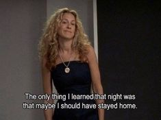 Instagram post by FashiionGoneRouge • Feb 20, 2021 at 9:39am UTC City Quotes, Movie Quotes, Funny Quotes, Cinema Quotes, Random Quotes, Carrie Bradshaw Quotes, Cosmic Girl, Thoughts And Feelings, Quote Aesthetic