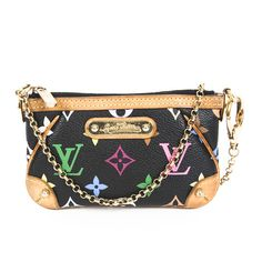 The Louis Vuitton Mini Multicolor Pochette  is an Eye Catcher that Works All Year long