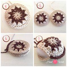 Colgantes para carteras tejidos al crochet | HandworkDIY