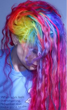 Happy Rainbow Hair