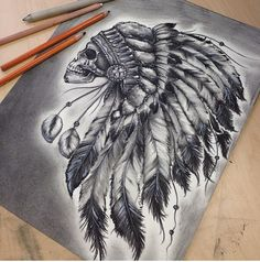Native American Headdress Things I Like Tattoos American