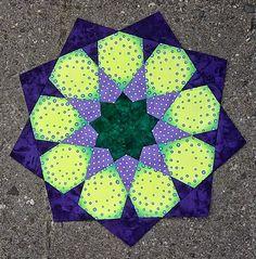 Zomer 2014 mandala quilt