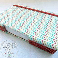 Um caderno 100% artesanal, feito especialmente para você que adora tudo que é feito com muito amor e carinho!