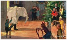Незнайкин Иван Петрович (Россия, 1916) «Ёлка с Ильичём. Белый слон»