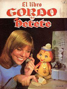 El libro gordo de Petete, jajaja, era mundial petete!