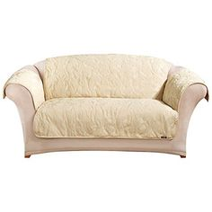 Sure Fit Matelasse Damask  - Loveseat Slipcover  - Tan (SF41416) ** Check out this great product.
