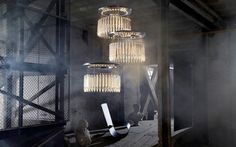 Lady Crinoline by Jean-Marc Gady, photo by Yves Duronsoy, Courtesy of Baccarat Highlights/Milano 2013 Milan Furniture, Luxury Lighting, Lighting Design, Decoration, Architecture, Lady, Light Fixtures, Modern Design, Contemporary Design